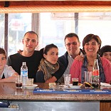 LORENZO Y JOSEFINA CON LA FAMILIA DE VISITA EN SA FOGANYA