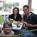 MIKE,BECKY AND SOPHIE FROM OAKHAM, RUTLAND U.K. IN SA FOGANYA