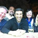 KAREN, SANDRA, CHRIS AND GARY FROM ENGLAND