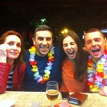 MONICA , ANNA Y KAMIL EN SA FOGANYA