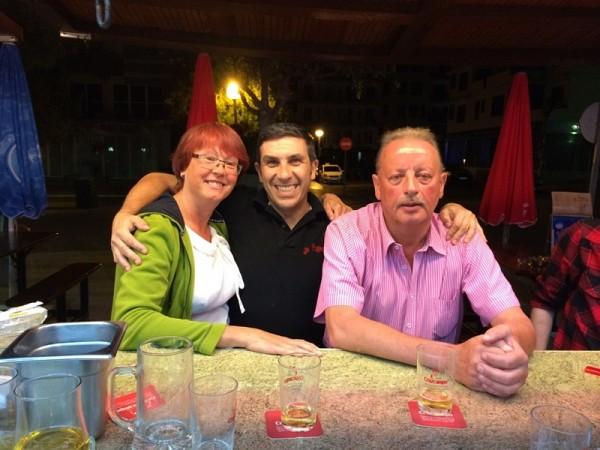 Meine Freunde Karin und Harald